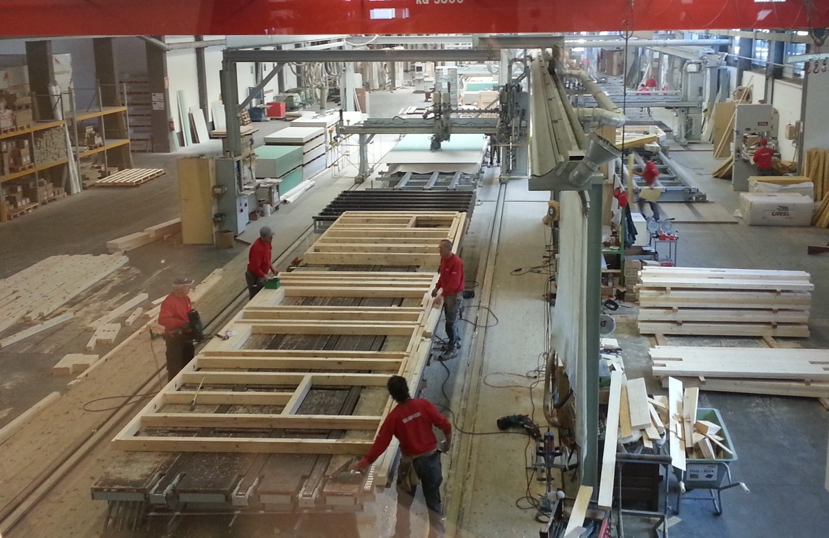 Visita in stabilimento caseinlegnoinblog for Ccnl legno arredamento industria